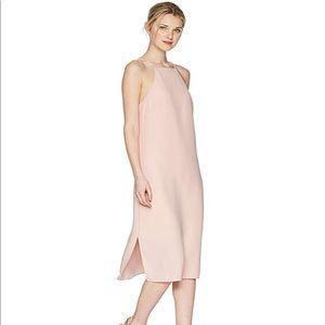 Sam Edelman High Neck Blush Sheath Dress